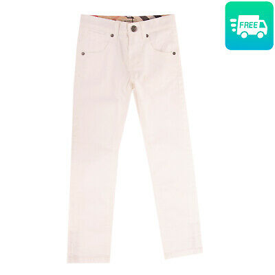 RRP €125 BURBERRY Trousers Size 5Y / 108CM Stretch Button Adjustable Waist