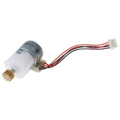 Miniature Planetary Geared Motor 15MM 2-phase 4-wire Stepper Motor Gear Box √