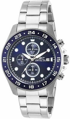 RELOJ Invicta Men's 15205 Pro Diver Chronograph Blue Dial Stainless Steel Watch