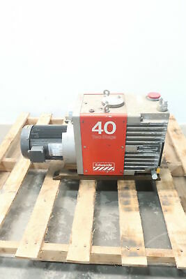 Edwards E2M40 Two Stage Vacuum Pump 2hp 208-230/460v-ac