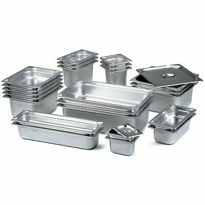Stainless Steel 2/3 GN PANS 353x327x100mm for Restaurant and Catering Use