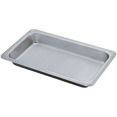 Oblong Decorative Food Pan for Restaurant and Catering Use