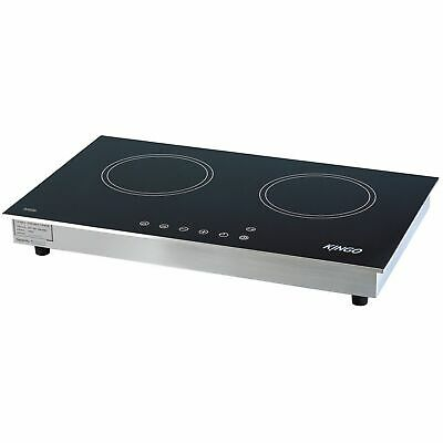 Double Electromagnetic Stove for Restaurant and Catering Use