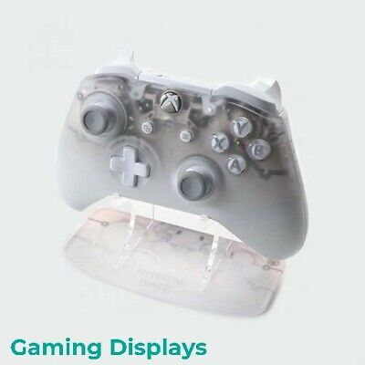 Phantom White Xbox One Printed Acrylic Controller Stand - Gaming Displays
