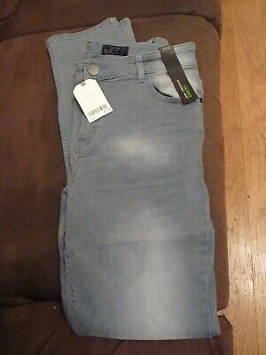 Boys Next Age 16 Years Denim Skinny Jeans With Adjustable Waist Faded Look Bnwt