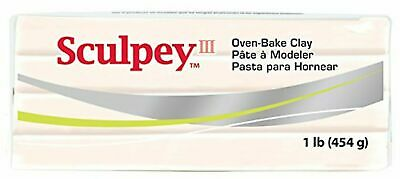 Polyform Sculpey III Polymer Clay 1lb-Beige, Pack Of 1