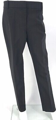 Chaus New York Women's Dress Pants Black Size 12 Stretch Crop Relaxed Fit NWT