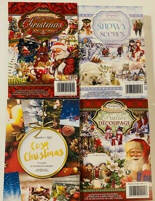 Hunkydory The First Square Little Book of Christmas