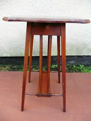 Antique Edwardian Inlaid Mahogany Occasional Table, Circa 1900/10. Arts & Crafts
