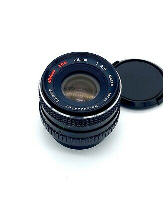 Vintage Albinar ADG Coated MC 28mm f/2.8 Lens for Pentax K; Free Shipping