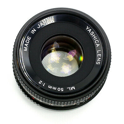 YASHICA ML 50mm f/2.0 FULL FRAME LENS FOR CONTAX SONY CANON