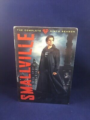 Smallville The Complete Ninth Season DVD Video NEW Sealed