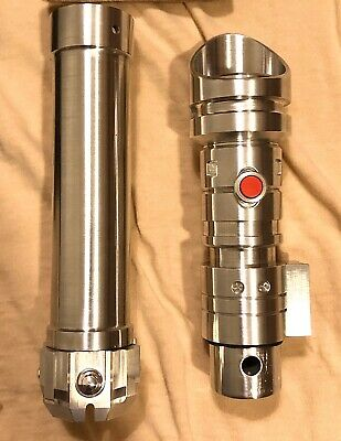 Rare Brand New Solo's Hold Promo TFU2 Custom Lightsaber W/ Original Box & Extras