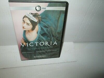 PBS's VICTORIA - COMPLETE FIRST SEASON 2017 dvd Set Period Piece RUFUS SEWELL