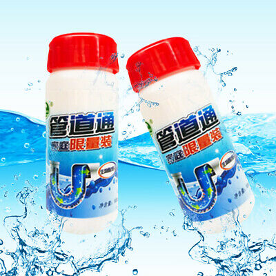 Home Sink Cleaner Pipe Dredging Agent Powder Toilet Strainer Drain Dissolve Hair