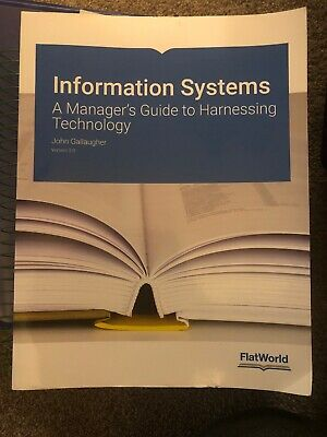Information Systems: A Managers guide to harnessing technology.   John Gallagher