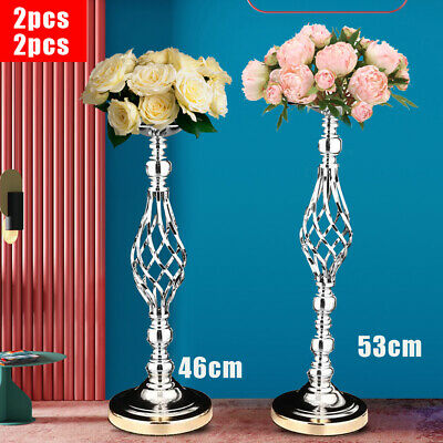 2pcs Metal Candlestick Holder Table Centerpiece Candle holder Wedding Gift