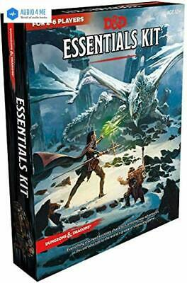 Dungeons & Dragons Essentials Kit (D&D Boxed Set) PAPERBACK 2019 - BRAND NEW