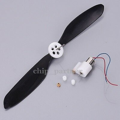 2pcs 7x16.5mm DC3.7V 56000RPM Coreless Motor Helicopter HM with CW CCW Propeller