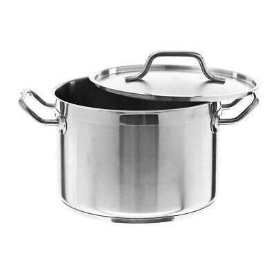Stainless Steel Stockpot ø250x250 for Restaurant and Catering Use