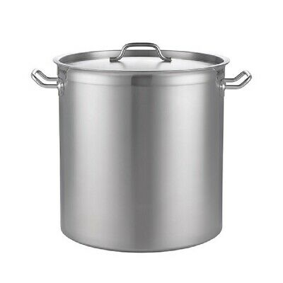 Stainless Steel Deep Stockpot ø320x220 for Restaurant and Catering Use