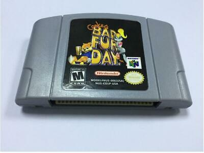 Conker´s Bad Fur Day Video Game Cartridge Card For Nintendo N64 PAL AU version