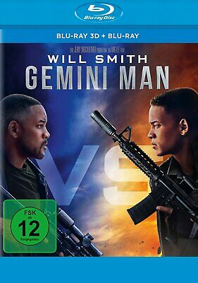 Gemini Man - Blu-ray 3D + 2D - (Will Smith) # 2-BLU-RAY-NEU