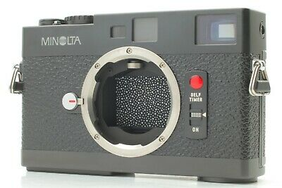 【Near Mint】 Minolta CLE 35mm Rangefinder Film Camera Leica Leitz From JAPAN #476