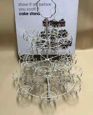 Wholesale joblot cupcake stand 3 tier  22 cake - 8 pieces
