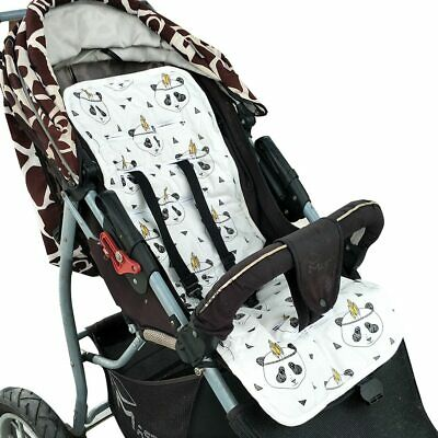 Baby Stroller Seat Liner Cotton Newborn Dinning Chair Cushion Pad Mat Trolley
