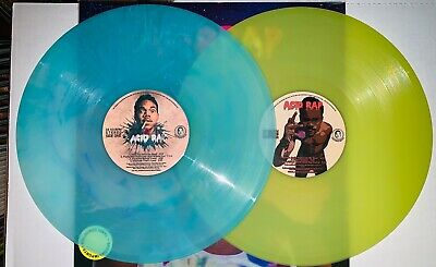 Chance The Rapper, Acid Rap, Marbled Baby Blue/Lime Green Colored Vinyl 2Lp