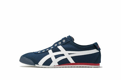 New Onitsuka Tiger MEXICO 66 SLIP-ON TH3K0N Navy× Off White F/S from Japan asics