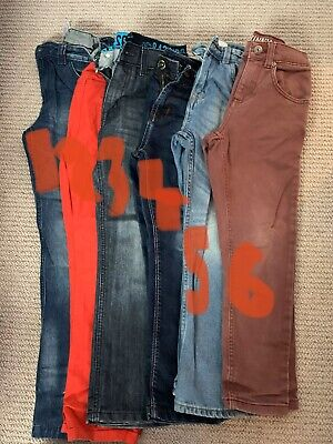 Boys jeans 7-8 years bundle Trousers X 6