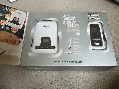 Tommee Tippee Closer to Nature DECT Digital baby monitor and movement sensor pad