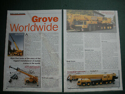 Grove Cranes Pennsylvania article about company its cranes and models 3 sides
