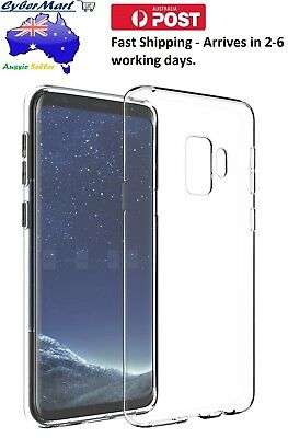 Samsung Galaxy S9 Plus Silicon Case Cover Phone Cover Protection Clear AUCTION
