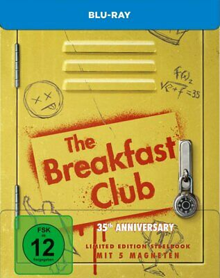 The Breakfast Club - 35th Anniversary Limited Steelbook # BLU-RAY-NEU