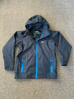 Kids TP50 Water/Windproof Jacket From TRESSPASS - Size 5/6 yrs (110-116cm)