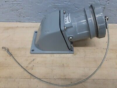 Thomas & Betts Russellstoll 3314 30A 250/480V 3P4W Angle Type Receptacle