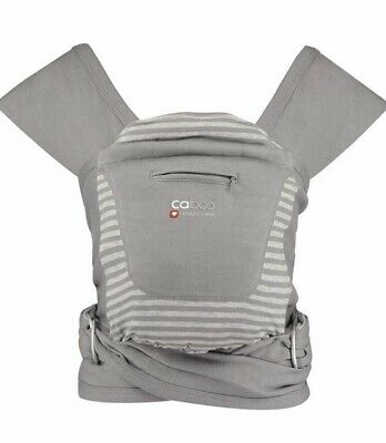 Close Caboo +Organic Cotton Baby Carrier / Sling Organic - NEW (box Damaged)