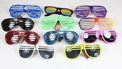 Below Wholesale Shutter Glasses Lot of 19 Flea Markets, Party, Beach, Give Aways