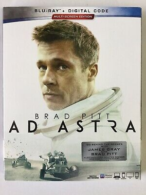 AD Astra BLU-RAY + DIGITAL + Slip Cover!!! Brand New Sealed!!!