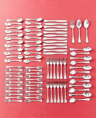 Pfaltzgraff® 87-Pc. Flatware Silverware Set