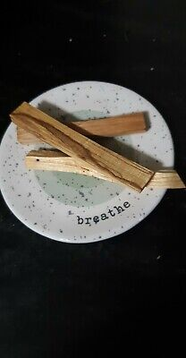 "Palo Santo Wood 3 Stick Lot, 4"" long (Incense Smudging, Cleansing)"