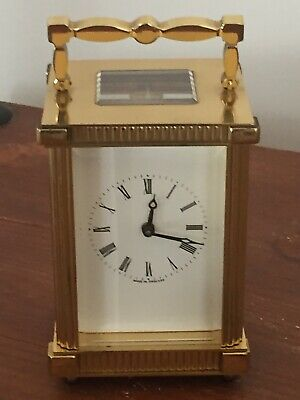 "Vintage 1900's ""LIONEL PECK"" London, 11 Jewels 8 Day Mech Move Carriage  Clock"