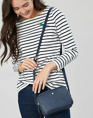 Joules Womens Farley Cross Body PU Bag in FRENCH NAVY in One Size