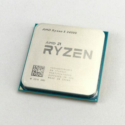 AMD Ryzen 5 2400G R5 2400G 3.6GHz Quad-Core Eight-Thread 65W CPU Processor