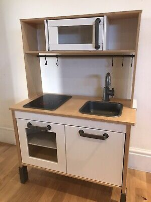 Ikea duktig Wooden kids toy play kitchen with accessories