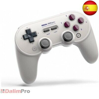 8BitDo SN30 Pro + Bluetooth Gamepad para Nintendo Switch, PC, macOS, Android,