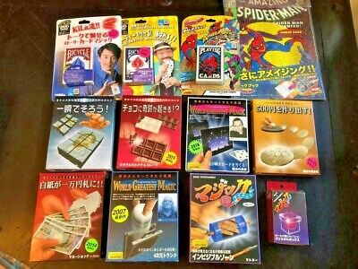 TENYO MAGIC JAPAN 12 ITEMS BUNDLE Invisible Zone Lubor Fiedler SHIP FROM US